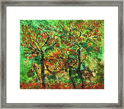 Autumn Framed Print by Erik Tanghe