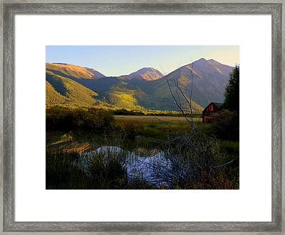 Autumn Evening Framed Print