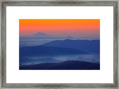 Autumn Fall Colors 12 Framed Print by Dan Carmichael