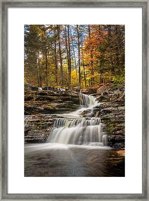 Autumn Falls Framed Print