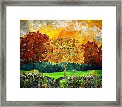 Autumn Fantasy Framed Print
