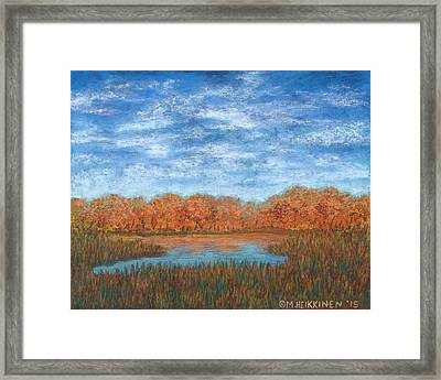 Autumn Field 01 Framed Print