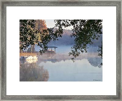Autumn Fog Framed Print