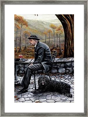 Autumn Friends Framed Print by Judy Kirouac