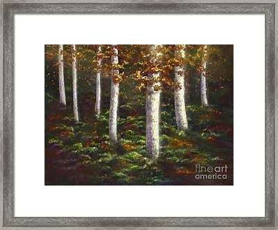 Framed Print featuring the digital art Autumn Ghosts by Amyla Silverflame