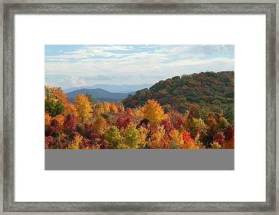 Autumn Glory Framed Print by Alan Lenk
