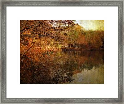Autumn Glow Framed Print by Jessica Jenney