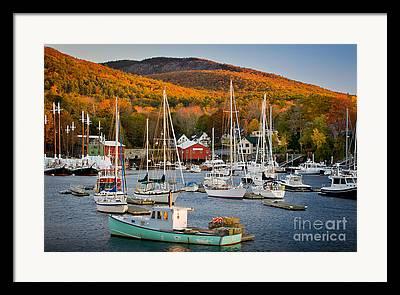 Coastal Community Framed Prints
