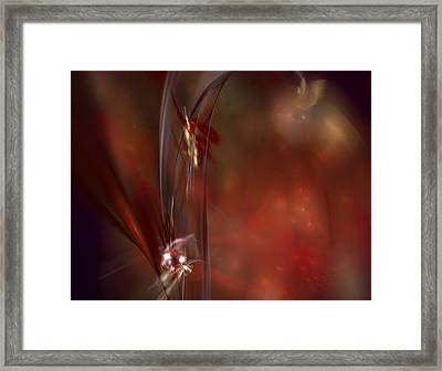 Autumn Grace Framed Print by C G Rhine