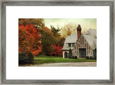 Autumn Grandeur Framed Print by Jessica Jenney