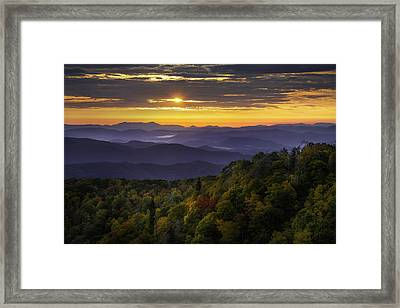 Autumn Greeting Framed Print