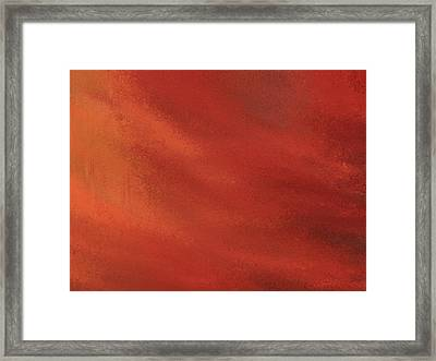 Autumn Grunge Framed Print