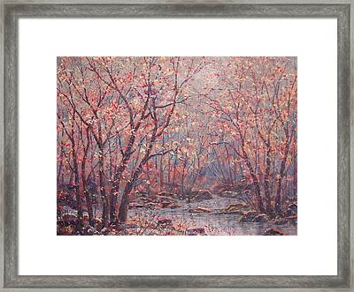 Autumn Harmony. Framed Print