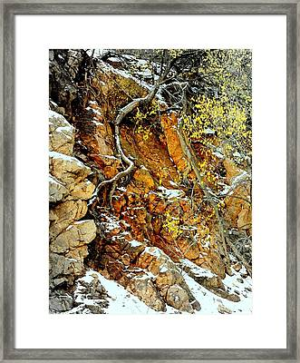 Autumn High.. Framed Print by Al  Swasey