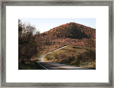 Autumn Hill Near Hancock Maryland Framed Print