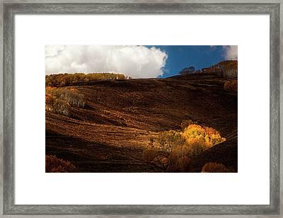 Autumn Hills Framed Print