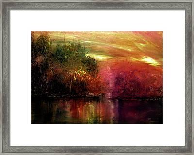 Autumn Hues Framed Print by Ann Marie Bone