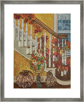 Autumn Hues Framed Print