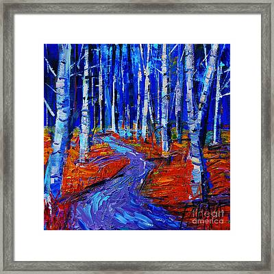 Autumn Impression Framed Print by Mona Edulesco
