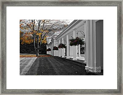 Autumn In Bath County Virginia Framed Print