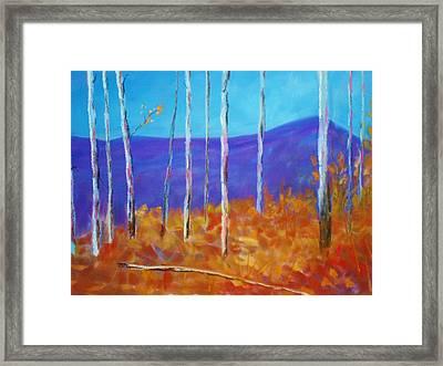 Autumn In Cloudcroft Framed Print