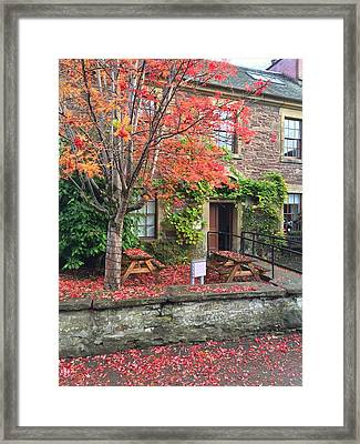 Autumn In Dunblane Framed Print by RKAB Works