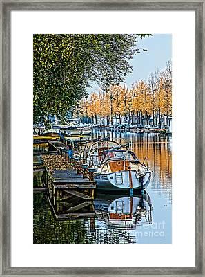 Autumn In Holland-2 Framed Print