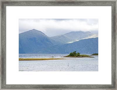 Autumn In Isle Of Skye, Uk Framed Print