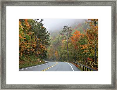 Autumn In Keene Valley Framed Print