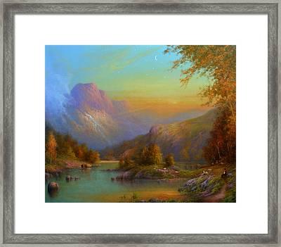 Autumn In Lake Killarney Framed Print by Joe Gilronan