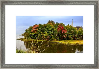 Autumn In Mabou Framed Print