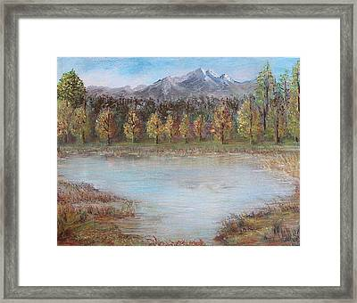 Autumn In Maule Framed Print