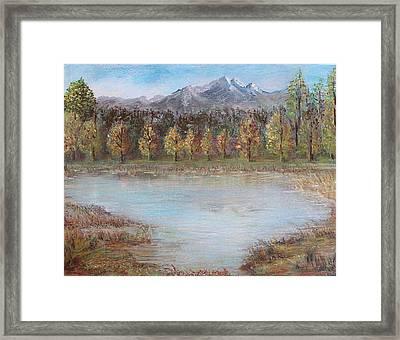 Autumn In Maule Framed Print