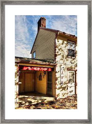 Autumn In Metamora Indiana 2 Framed Print by Mel Steinhauer