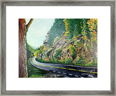 Autumn In Mission Framed Print