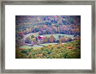 Autumn View, Mohonk Preserve Framed Print