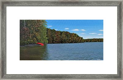 Autumn In Muskoka Framed Print by Kenneth M  Kirsch