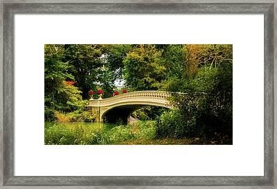 Autumn In New York Framed Print