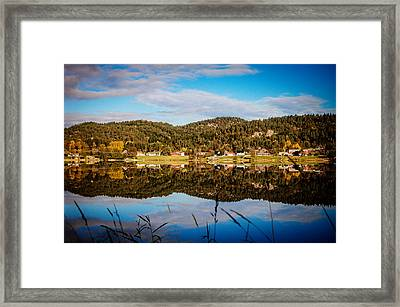 Autumn In Norway Framed Print by Mirra Photography