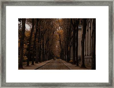 Autumn In Paris 1 Framed Print