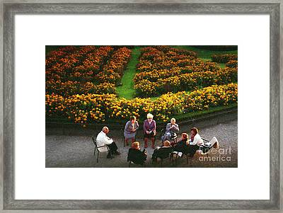 Autumn In Paris Framed Print by Erik Falkensteen