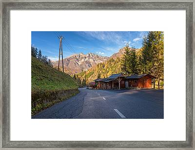 Autumn In Slovenia Framed Print by Robert Krajnc