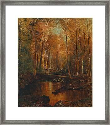 Autumn In The Catskills Framed Print