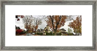 Autumn In The City 11 Framed Print