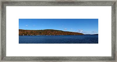 Autumn In The Finger Lakes Framed Print by Joshua House