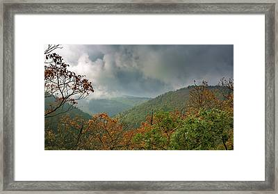 Autumn In The Ilsetal, Harz Framed Print
