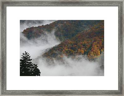 Autumn In The Mountains Framed Print by James Jones