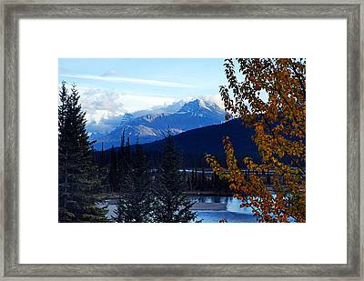 Autumn In The Mountains Framed Print
