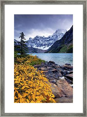 Autumn In The Mountains Framed Print by Tomas Nevesely