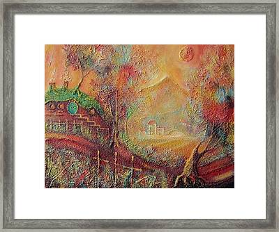 Autumn In The Shire Bag End Framed Print by Joe  Gilronan